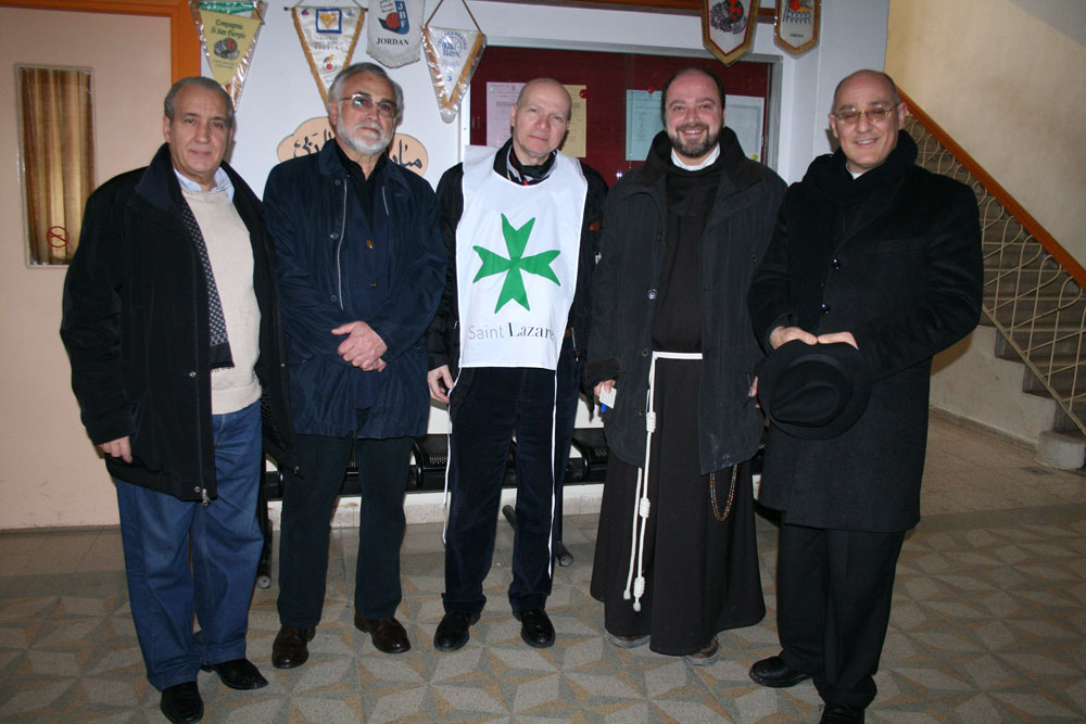 Pilgrimage of the Grand Priory of Italy in Jerusalem | March 2012